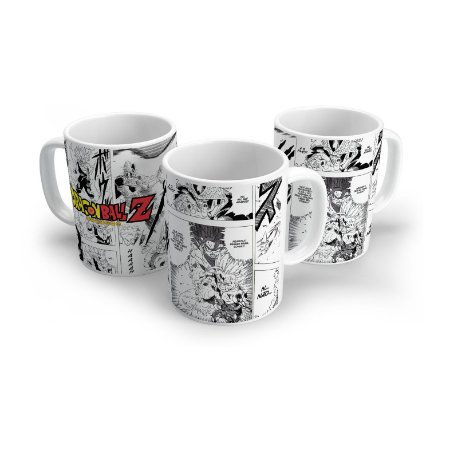 Caneca Dragon Ball Z - Mangá