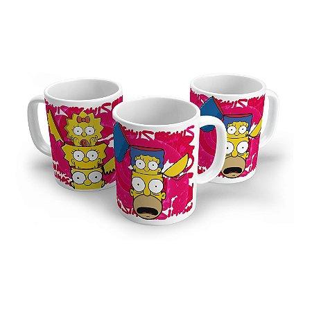 Caneca Os Simpsons Inside