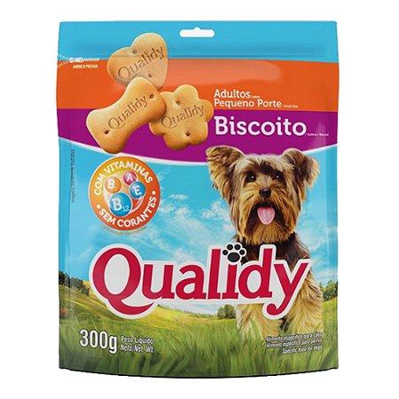 Qualidy Biscoito Para Cães Adultos Pequeno Porte 300g