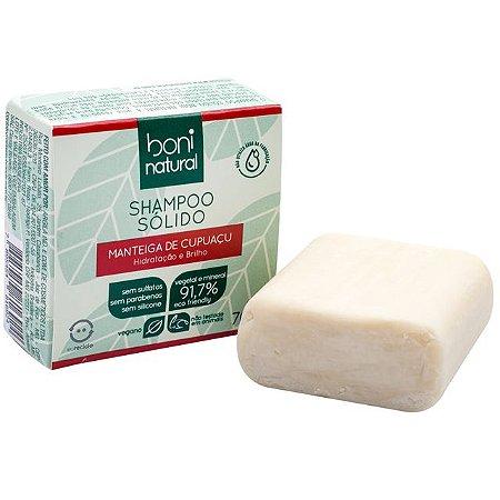 Shampoo Sólido Cupuaçu Boni Natural 70g