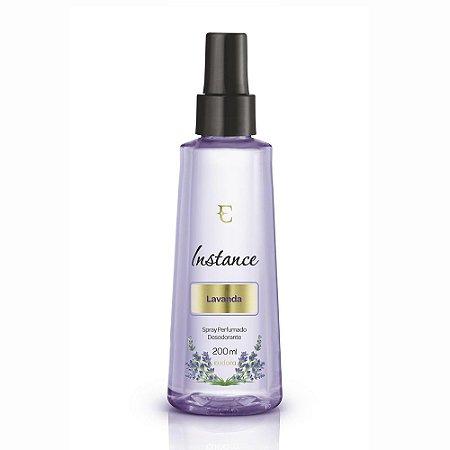 Spray Desodorante Perfumado Instance Lavanda 200ml