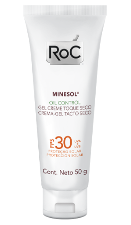 Minesol Oil Control Protetor Solar Roc - FPS 30 50g