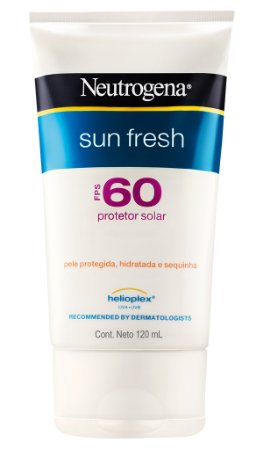 Sun Fresh Protetor Solar Neutrogena - FPS 60 120ml
