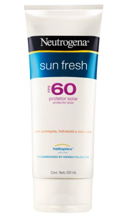 Sun Fresh Protetor Solar Neutrogena - FPS 60 200ml