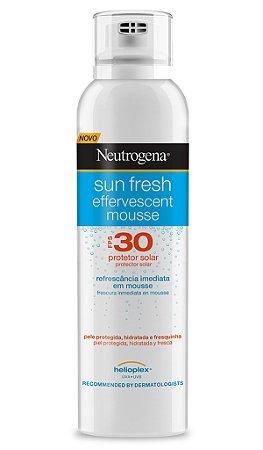 Sun Fresh Mousse Protetor Solar Neutrogena - FPS 30 200ml