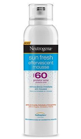 Sun Fresh Mousse Protetor Solar Neutrogena - FPS 60 200ml