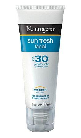 Sun Fresh Protetor Solar Facial Neutrogena- FPS 30 50ml