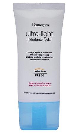 Neutrogena Ultra Light Pele Normal a Seca -55g