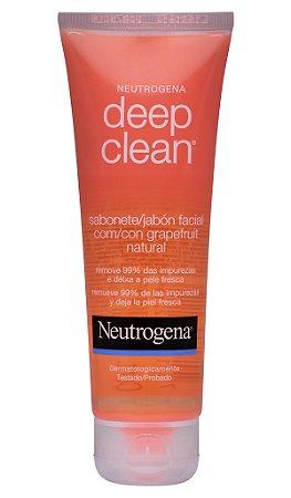 Neutrogena Deep Clean Gel de Limpeza Grapefruit - 80g