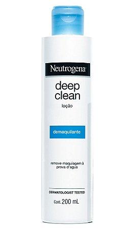 Neutrogena Deep Clean Loção Demaquilante - 200mL