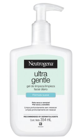 Neutrogena Ultra Gentle Gel de Limpeza Facial - 354 mL