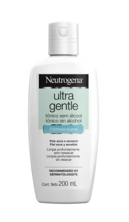 Neutrogena Ultra Gentle Tônico sem Álcool - 200 mL