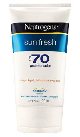 Sun Fresh Protetor Solar Neutrogena - FPS 70 120 mL