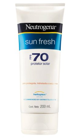 Sun Fresh Protetor Solar Neutrogena FPS 70 200 ml