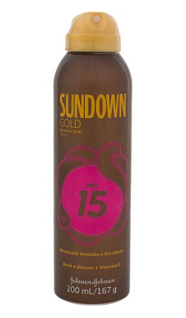 Bronzeador Sundown Gold Spray  - FPS 15 200 mL