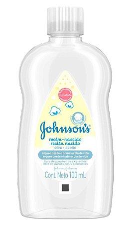 Johnson's Baby  Óleo Infantil Recém Nascido - 100 mL