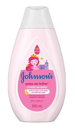 Johnson's Baby Condicionador Gotas de Brilho - 200 mL