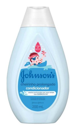 Johnson's Baby Condicionador Infantil Cheirinho Prolongado - 200 mL