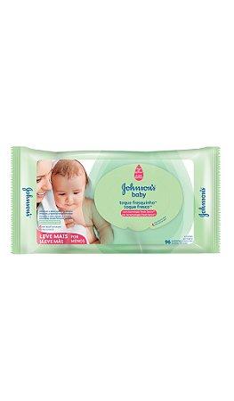 Johnson's Baby Lenços Umedecidos Toque Fresquinho - 96 Unidades
