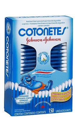 Cotonetes Johnson's - 150 unidades