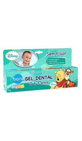 Gel Dental Sem Flúor Boni Baby Disney – 50g