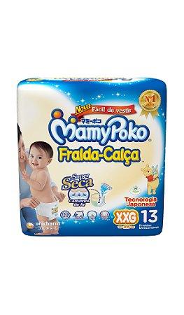 Fralda-Calça MamyPoko Tamanho XXG – 13 unidades