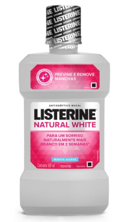 Enxaguatório Bucal Listerine Antimanchas - 500 mL