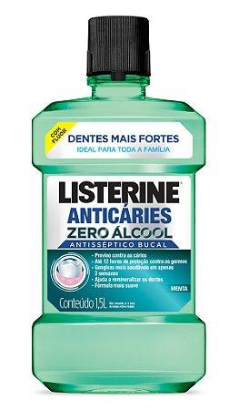 Enxaguatório Bucal Listerine Zero Anticáries - 1,5L