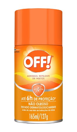 Repelente Off Family Aerosol - 165 ml
