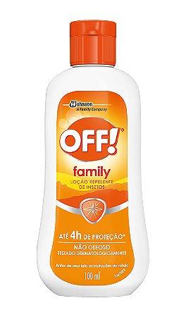 Repelente Off Family Hidratação Loção - 100 ml