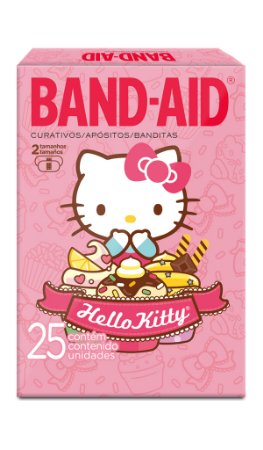 Band Aid Curativo Hello Kitty - 25 Unidades