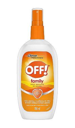 Repelente Off Family Spray - 200mL