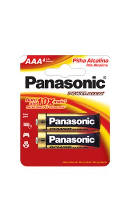 Panasonic Pilha Alcalina Palito AAA - 2 Unidades