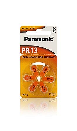 Panasonic Bateria Auditiva PR 13 - 6 Unidades