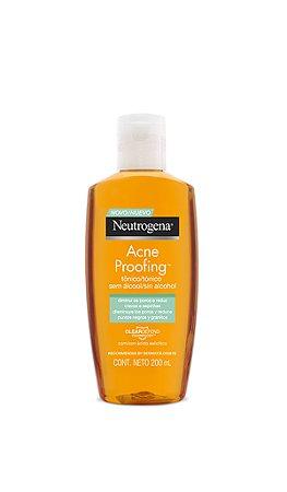Neutrogena Tônico Sem Álcool Acne Proofing - 200ml