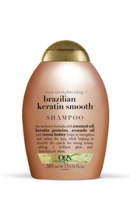 Shampoo Ogx Brazilian Keratin Smooth- 385mL