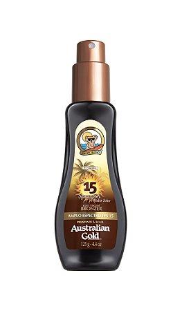Australian Gold Spray Gel FPS 15 Instant Bronzer - 125ml
