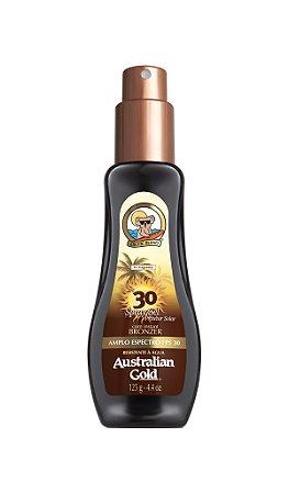 Australian Gold Spray Gel FPS 30 Instant Bronzer - 125ml