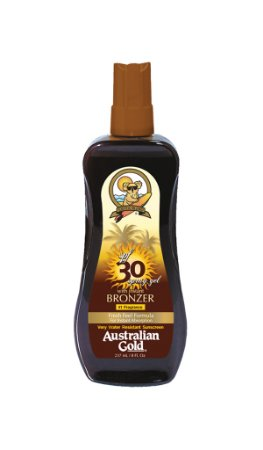 Australian Gold Spray Gel FPS 30 Instant Bronzer - 237ml