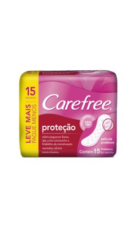 Protetor Diário Carefree Proteção - Leve 15 Pague Menos