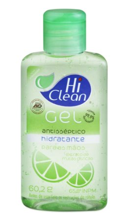 Álcool Gel Hi Clean Frutas Cítricas - 70ml