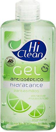 Álcool Gel Hi Clean Frutas Cítricas - 250ml