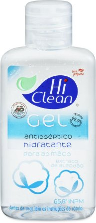 Álcool Gel Hi Clean Extrato De Algodão - 250ml