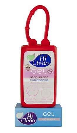 Álcool Gel Hi Clean Extrato De Rosas Com Capinha - 70ml