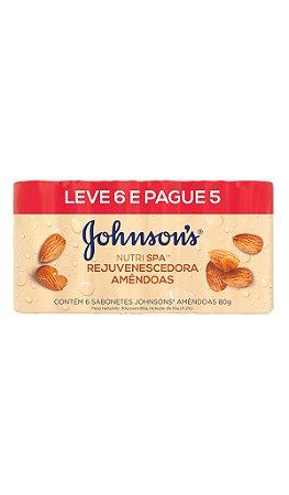 Sabonete Johnson's  Rejuvenescedora Amêndoas - Leve 6 Pague 5