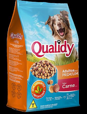 Qualidy Premium Cães Adultos Sabor Carne 3kg