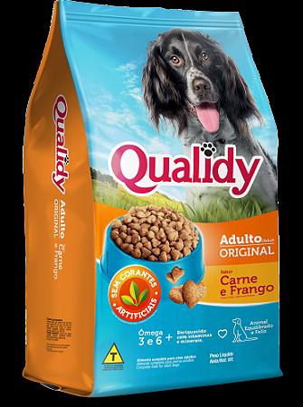 Qualidy Original Cães Adultos Sabor Carne e Frango 10,1kg