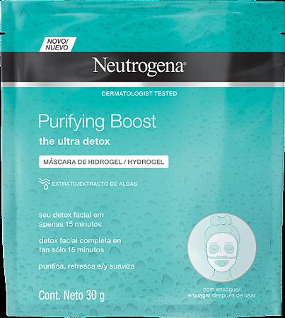 Purifying Boost Máscara Hydrogel Neutrogena 30g