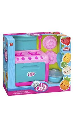 Kit Fogão Color Chefs