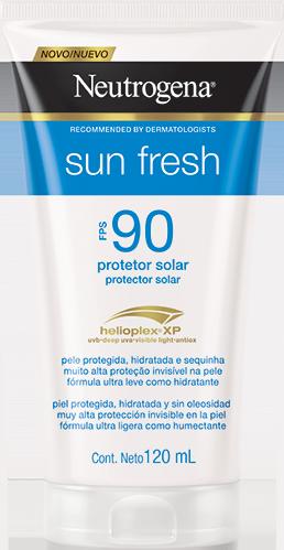 Sun Fresh Protetor Solar Neutrogena FPS 90 120ml
